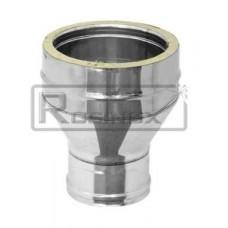 Адаптер котла переход, 2А-П, диаметр 120х125 мм