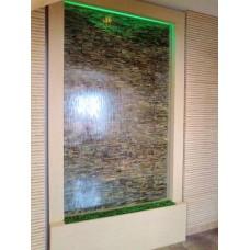 Водопад по стеклу 1000*2000*500